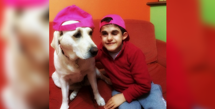 This Hero Labrador Is Supporting Her Best Friend Through A Serious Illness